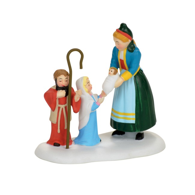 "Department 56 Alpine Village - ""The Children's Nativity"""