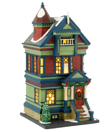"Department 56 Christmas In The City - ""755 Pacific Heights"""