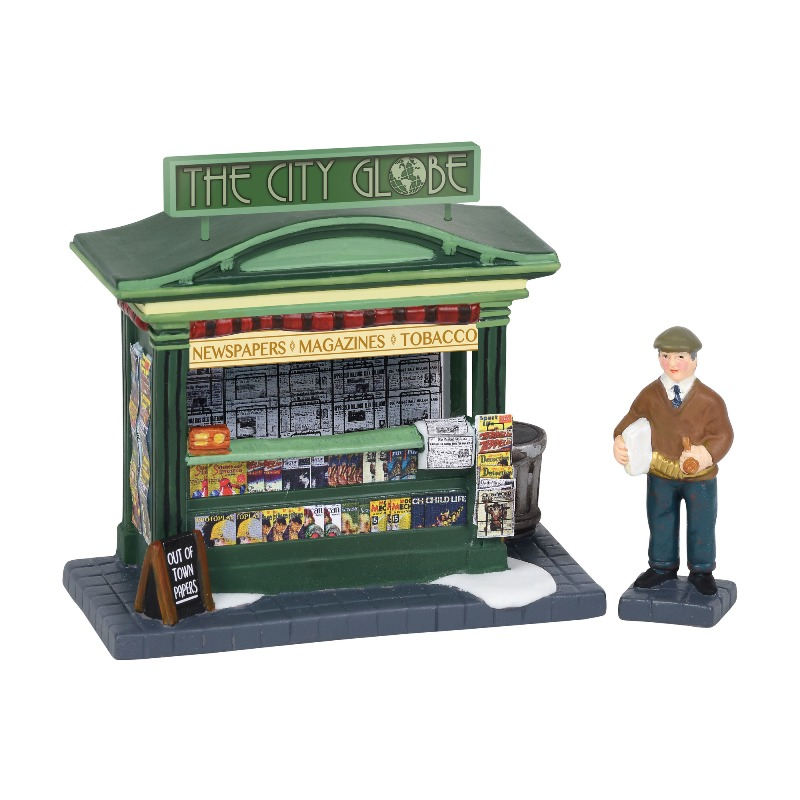 "Department 56 Christmas in the City Accessory - ""City News Evening Edition"" 2018"