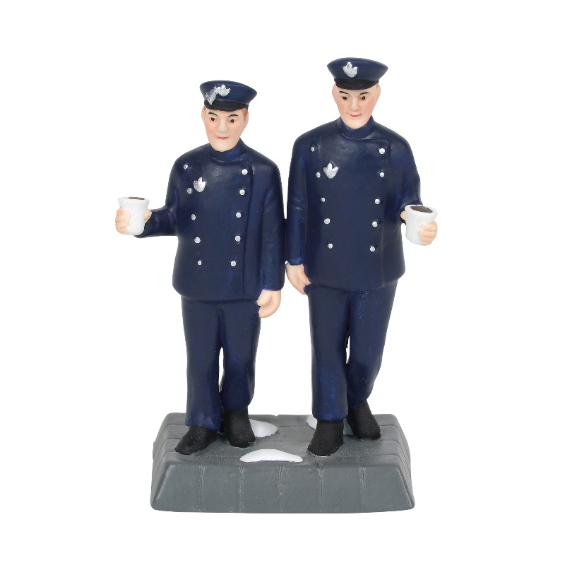 "Department 56 Christmas in the City Accessory - ""Walking The Beat"" 2018"