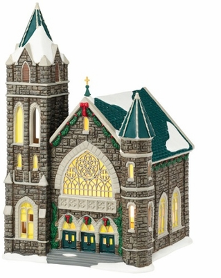 """Department 56 Christmas In The City - """"Church Of The Advent"""""""