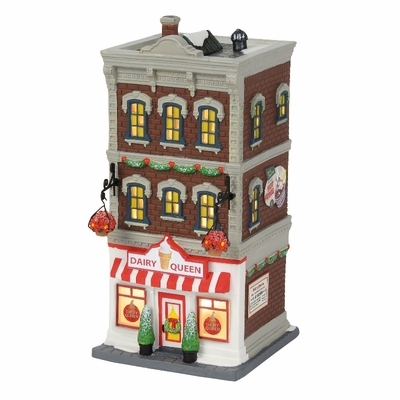 "Department 56 Christmas in the City - ""Downtown Dairy Queen"" 2018"