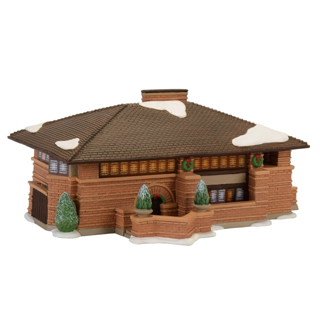 "Department 56 Christmas in the City - ""FLW Heurtley House"""