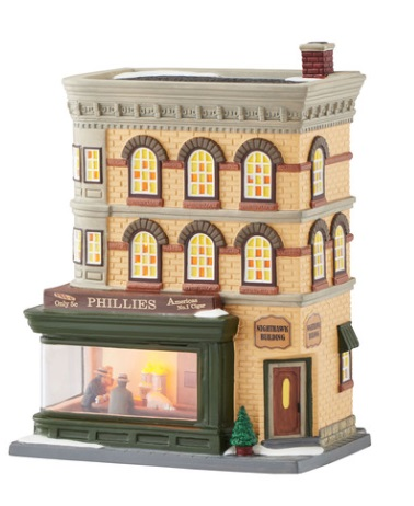 "Department 56 Christmas In The City - ""Nighthawks"""