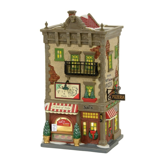 "Department 56 Christmas in the City - ""Sal's Pizza & Pasta"""