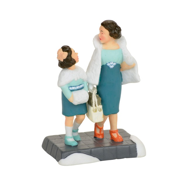 "Department 56 Christmas in the City - ""Shopping On Park Avenue"""