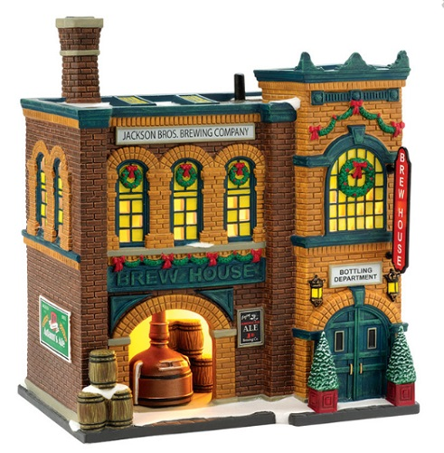 "Department 56 Christmas In The City - ""The Brew House"""