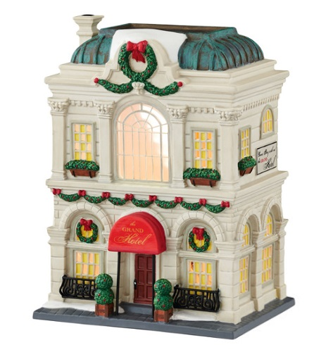"Department 56 Christmas In The City - ""The Grand Hotel"""