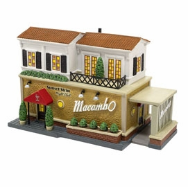 "Department 56 Christmas In The City - ""The Macambo"""