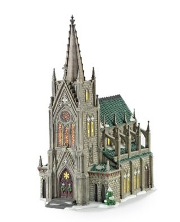 "Department 56 Christmas in the City Village - ""Cathedral Of St Nicholas Special Edition"""