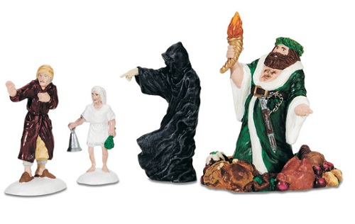 Department 56 Dickens Village Accessory - A Christmas Carol Visit - A Christmas Carol