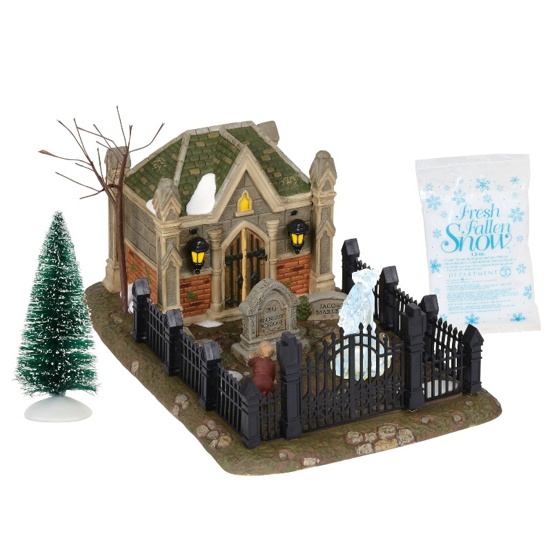 "Department 56 Dickens Village Accessory- ""Christmas Carol Cemetery"" 2018"
