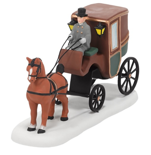 "Department 56 Dickens' Village Accessory - ""Dickens' Carriage Ride"""