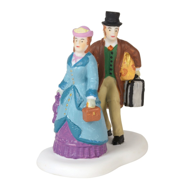 "Department 56 Dickens Village Accessory- ""Evening Arrival"" 2018"