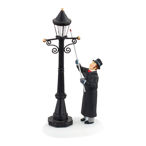 "Department 56 Dickens' Village Accessory - ""Lighting The Lane"""