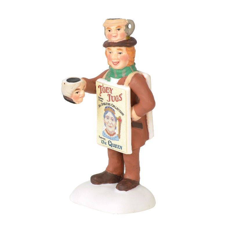 "Department 56 Dickens Village Accessory- ""Toby Street Vendor"" 2018"