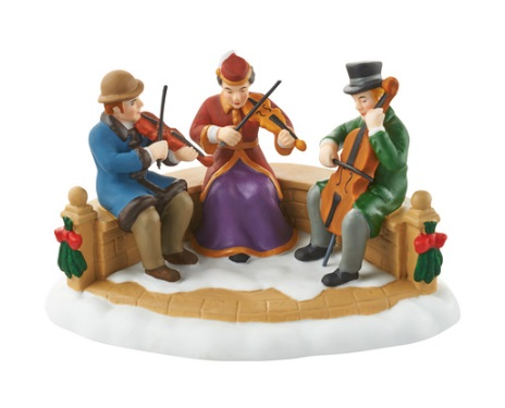 "Department 56 Dickens' Village Accessory - ""Village String Trio"""