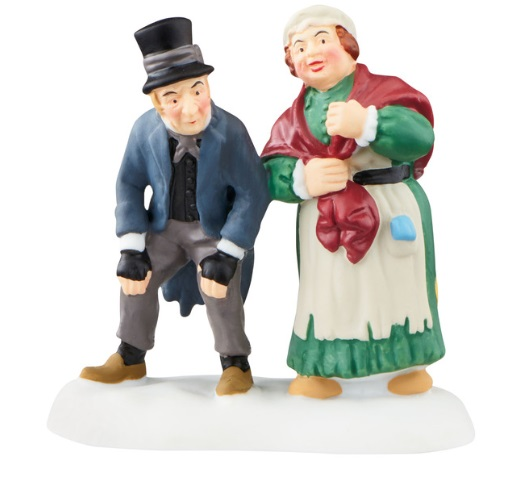 """Department 56 Dickens' Village Accessory - """"Waiting In The Parlor For Old Joe"""" - A Christmas Carol"""
