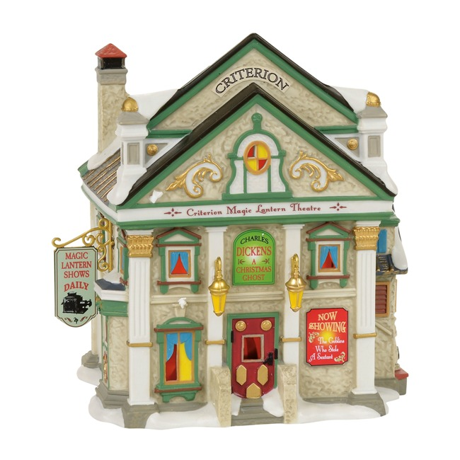 "Department 56 Dickens Village - ""Criterion Magic Lantern Theatre"""