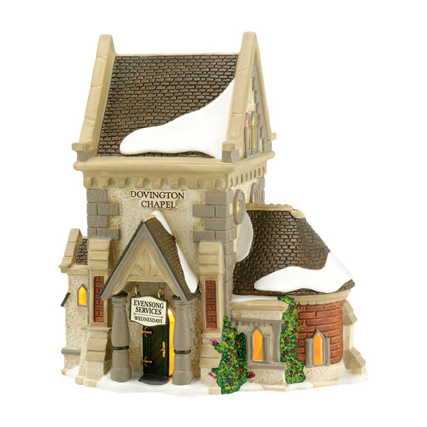 "Department 56 Dickens' Village - ""Dovington Chapel"""