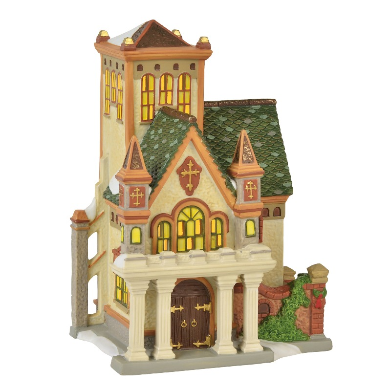 "Department 56 Dickens Village - ""Duniway Abbey"" 2018"