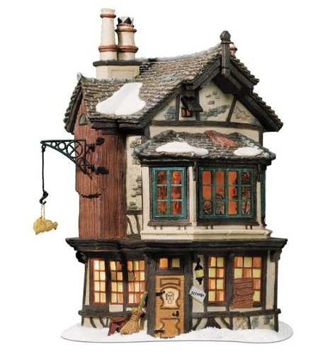 Department 56 Dickens Village - Ebenezer Scrooges House - A Christmas Carol