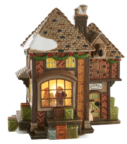 """Department 56 Dickens' Village - """"Fezziwig's Holiday Dance"""" - A Christmas Carol"""