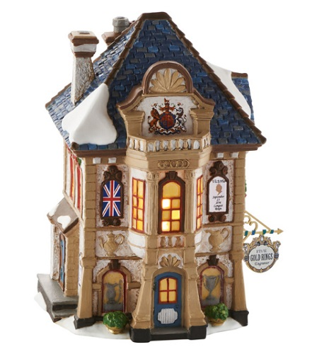 "Department 56 Dickens' Village - ""Five Gold Rings Engraver"""