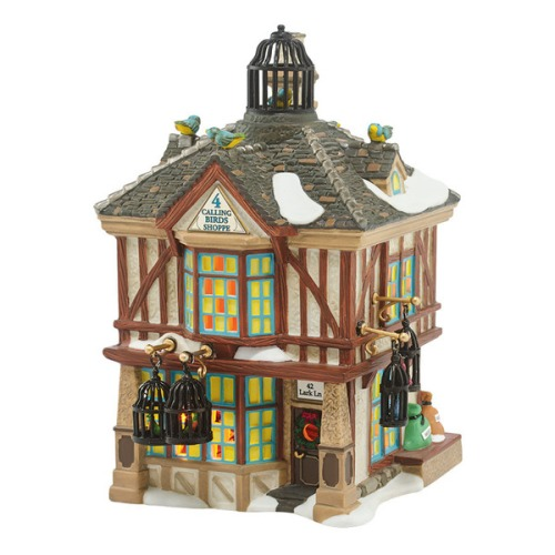 "Department 56 Dickens' Village - ""Four Calling Birds Shoppe"""