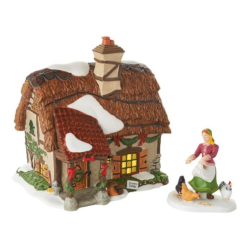 "Department 56 Dickens' Village - ""Foxmore Cottage"""