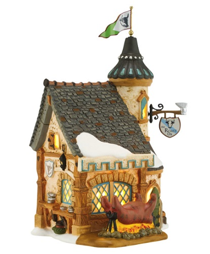 "Department 56 Dickens' Village - ""Frost Fair Roasted Ox"""