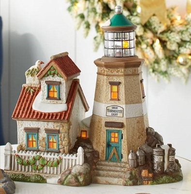 """Department 56 Dickens Village - """"Great Yarmouth Light"""""""