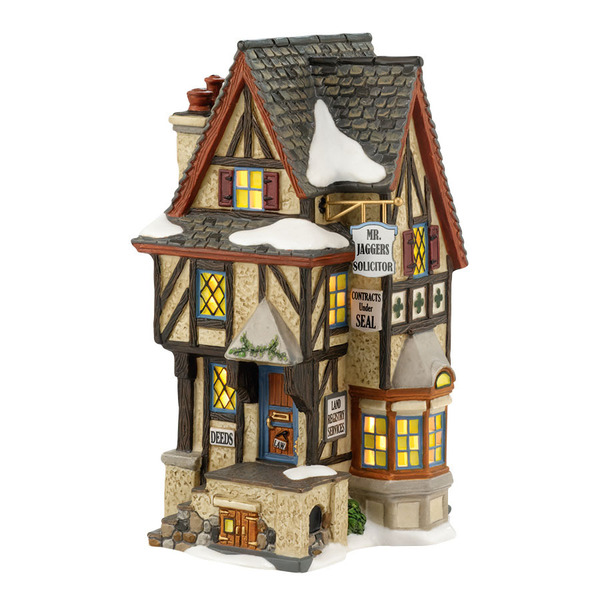 "Department 56 Dickens' Village - ""Hampshire Solicitor"""