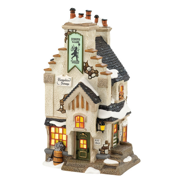 "Department 56 Dickens' Village - ""Hampshire Sweeps"""