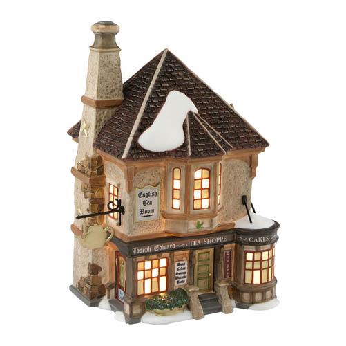"Department 56 Dickens Village  - ""Joseph Edward Tea Shoppe"""