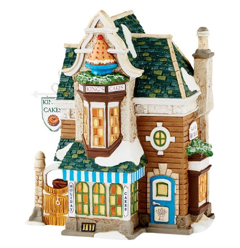 "Department 56 Dickens' Village - ""Kings Cakes"""