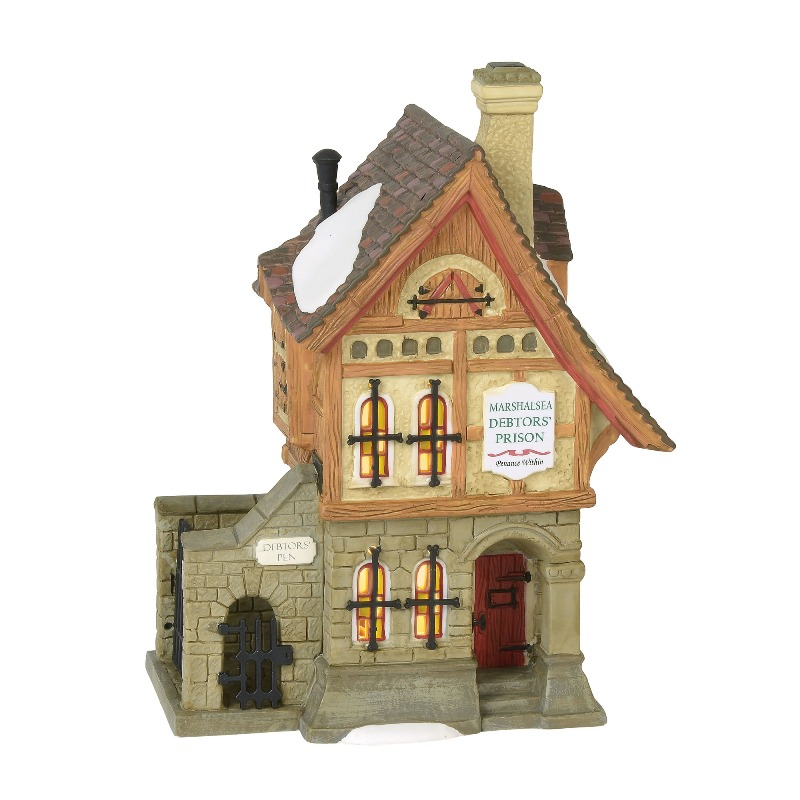 Department 56 Dickens Village - Marshalsea Debtors Prison 2018