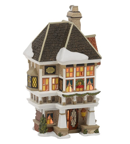 dept 56 dickens a christmas carol christmas village set. Black Bedroom Furniture Sets. Home Design Ideas