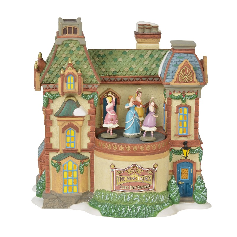 "Department 56 Dickens Village - ""Nine Ladies Dance Conservatory"" 2018"
