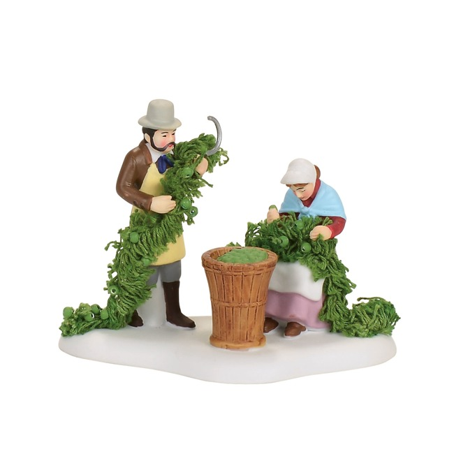 "Department 56 Dickens Village - ""Oast House Hop Harvest"""