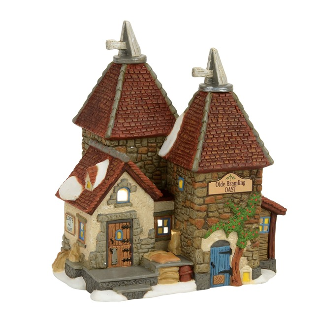 "Department 56 Dickens Village - ""Olde Bramling Oast House"""