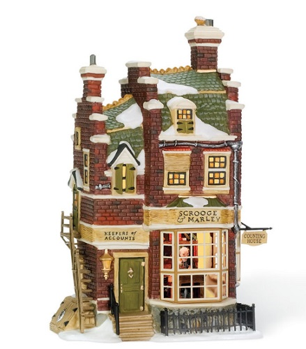 Department 56 Dickens Village - Scrooge & Marley Counting House - A Christmas Carol