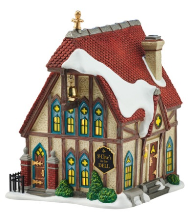 "Department 56 Dickens' Village - ""St. Clive's In The Dell"""