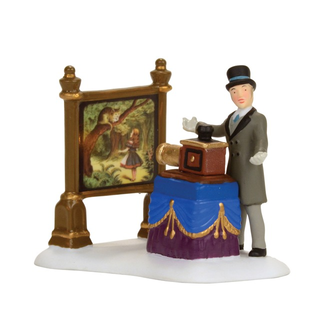 Department 56 Dickens Village Accessory - The Amazing Magic Lantern Show