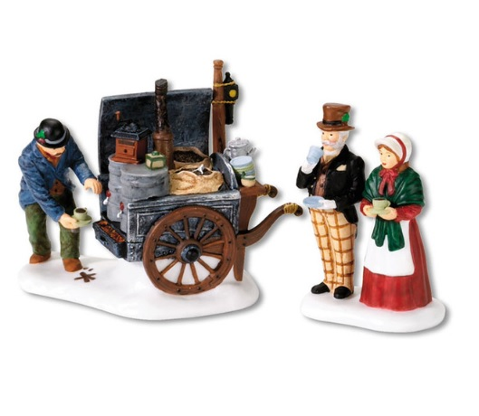 Department 56 Dickens Village Accessory - The Coffee Stall