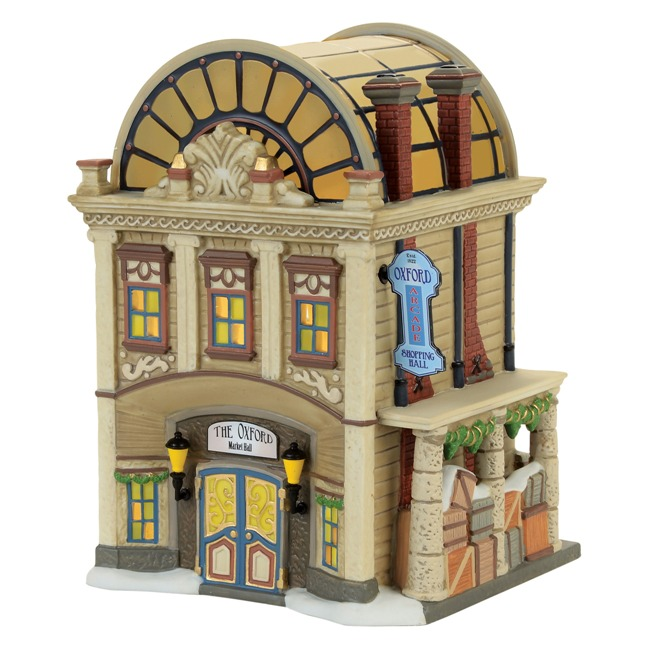"Department 56 Dickens Village - ""The Oxford Arcade"""