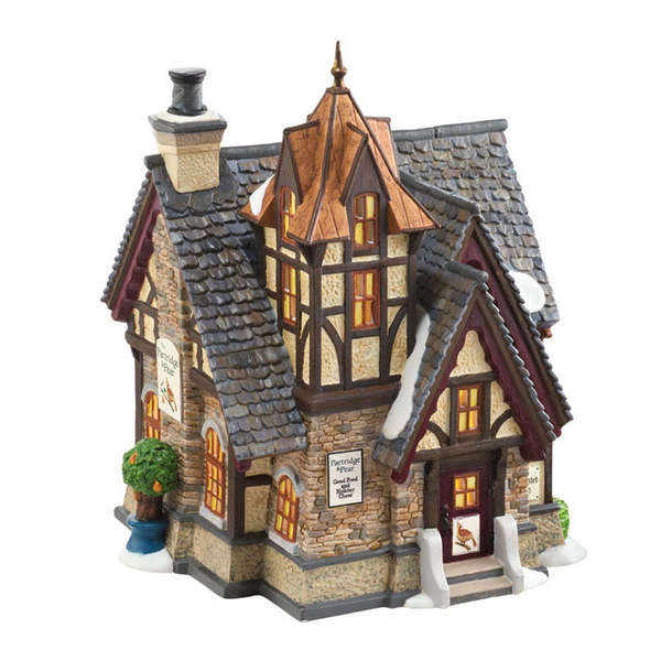 "Department 56 Dickens' Village  - ""The Partridge and Pear"""