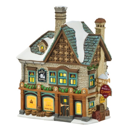 "Department 56 Dickens' Village - ""The Swan & Trumpet"""
