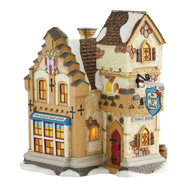 "Department 56 Dickens' Village - ""The Sword & Shield"""