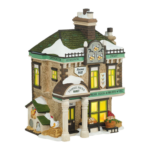 "Department 56 Dickens' Village - ""The Three Hens Market"""